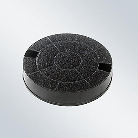 Elica CFC0013072 Filtro accesorio para campana de estufa - Accesorio para chimenea (Filtro, Negro, Carbón vegetal, Elica, lba Cubo Island, Aqua, Coraline, Daisy, Emerald, Memphis, Mensola, Oretta, Rubino Corner, Rubino..., 40 mm):