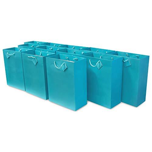 Tiffany Blue Gift Bags (6x7.5x3