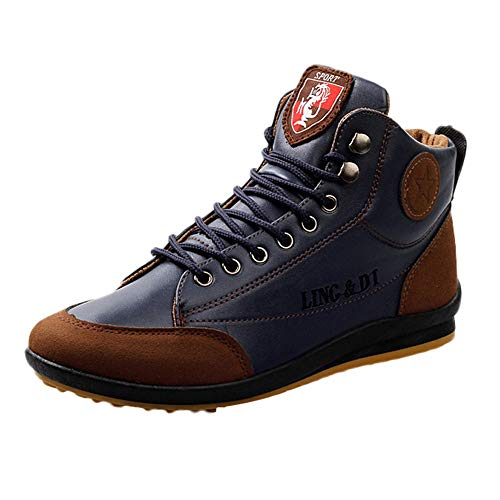 Clearance for Shoes,AIMTOPPY Men's Shoes High-Top Shoes Men's Casual Shoes Wear-Resistant Shoes