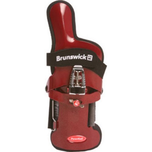 Brunswick Powrkoil XF Wrist Support (Red, Right Hand, Medium)