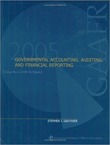 Governmental accounting auditing and financial reporting 2005 governmental accounting auditing and financial reporting 2005 stephen j gauthier stephen j gauthier 9780891252757 amazon books fandeluxe Images