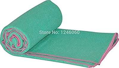 Superior Quality 185*63cm Microfiber Yoga Towel Yoga Mat Blanket Sweat Absorbing Slip-resistant Antibiotic Eco-friendly