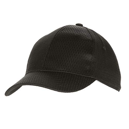 Chef Works Unisex Cool Vent Baseball Cap, Black, One Size (Dining Table Suppliers)