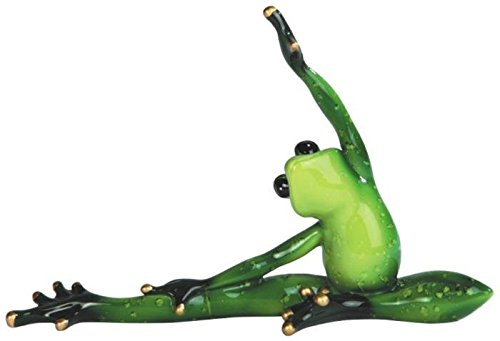 StealStreet SS-G-61160 Green Frog Yoga Figurine for sale  Delivered anywhere in Canada