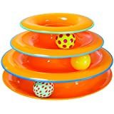 Tower of Tracks Ball and Track Interactive Toy for Cats, Fun Cat Game by Petstages