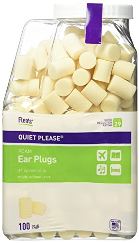 Flents Quiet Please Earplugs  100 Pair