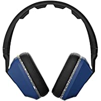 Original Skullcandy Crusher Headphones with Built-in Amplifier and Mic (Blue/Black)