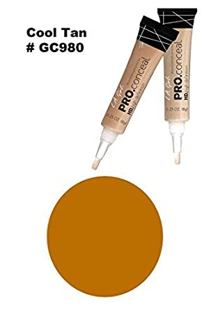 L.A. Girl Pro Conceal HD Concealer, Creamy Beige, 0.28 Ounce GC973