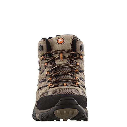 Merrell Men's, Moab 2 Mid Waterproof Boots Walnut 8 M