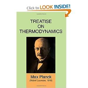 Treatise on thermodynamics Max Planck