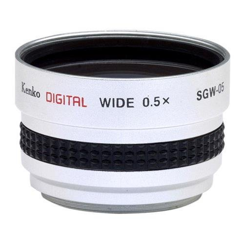 Kenko 0.5X Wide Angle Lens for 37mm Camcorders #SGW-05 by Kenko