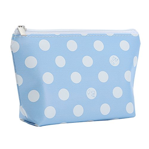 HOYOFO Cosmetic Pouch Travel Makeup Bag Portable Handy Beaut