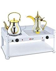 سخان دلال قهوة والشاي كهربائية أبيض DLC-5533