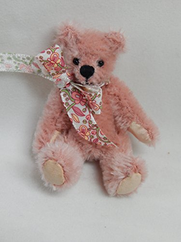 "World of Miniature Bears 3"" Mohair Bear Blossom #651OR for sale  Delivered anywhere in USA"