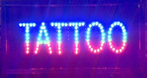 Buy tattoo led sign