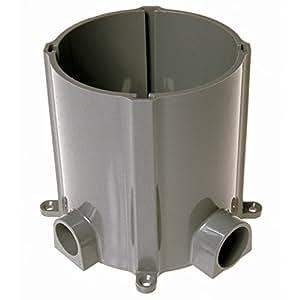 Hubbell 5511 Non Metallic Floor Box For Concrete Pour