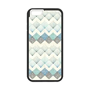 """Qxhu Colorful Rhombus Protective Snap On Hard Plastic Case for Iphone6 Plus 5.5"""""""