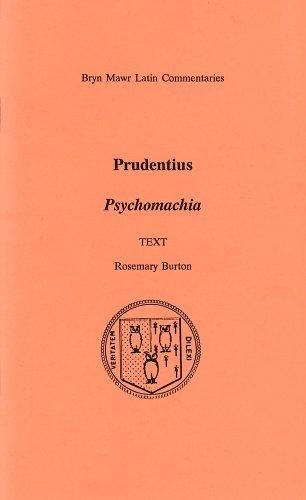 Psychomachia  Bryn Mawr Commentaries  Latin