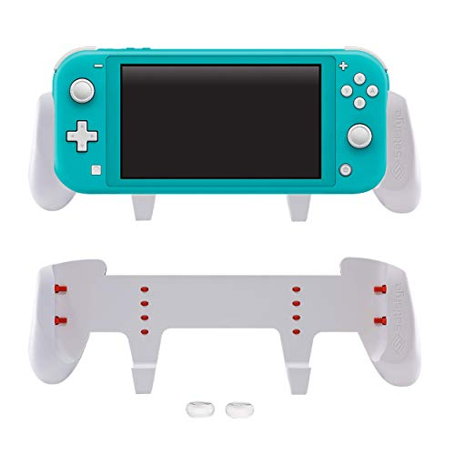 Satisfye - New SwitchGrip Lite, Accessories Compatible with Nintendo Switch Lite - Comfortable & Ergonomic Switch Grip, Joy Con & Switch Control. #1 Switch Accessories for Gamers. BONUS: 2 Thumbsticks