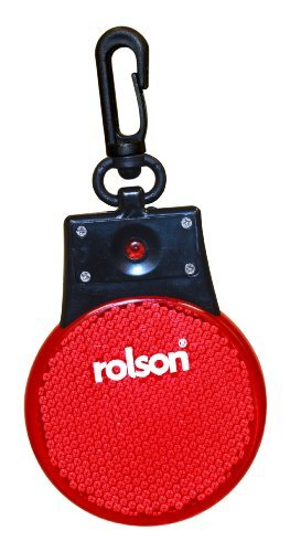 Rolson Red Led Clip On Light