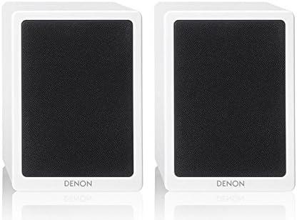Denon SCN4 - Altavoz de estantería (2 unidades), negro