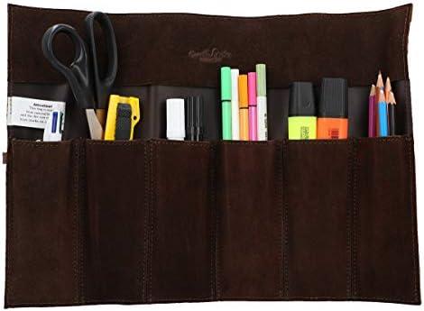 Gusti Cuero Studio Rokko Estuche Plegable de Cuero para Herramientas Instrumentos de Pintura Costura Bricolaje Carpintería 2A97-26-3: Amazon.es: Equipaje