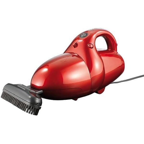 CleanMaxx 01375 Power Plus - Aspiradora de mano 800W, 2 en 1, con la función de ventilador adicional, color rojo: Amazon.es: Hogar