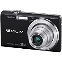 Casio Exilim EX-ZS10 Black 14 MP Stylish and Slim Digital Camera with 5x Wide-Angle Zoom and 720p HD Video Capture Review Review Image