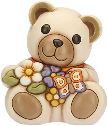 Mazzo Di Fiori Thun.Thun Teddy Con Mazzo Di Fiori E Farfalla Animali Soprammobili