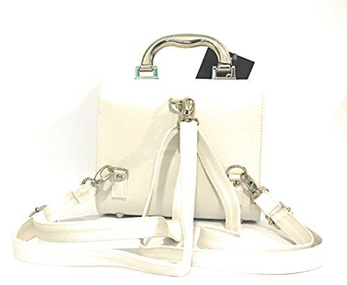Knob Musician Design , Sac pour femme à porter à l'épaule blanc bianco