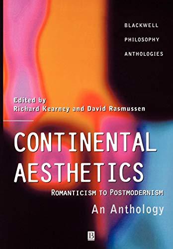 Continental Aesthetics: Romanticism to Postmodernism