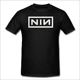 Vintage Nine Inch Nails Nin Trent Reznor Logo Black Men T Shirt Large 0718768257856 Amazon Com Books
