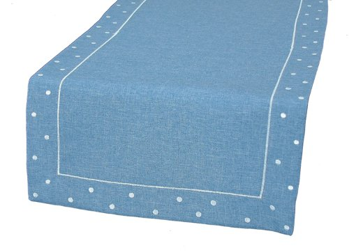 Xia Home Fashions Embroidered Chambray