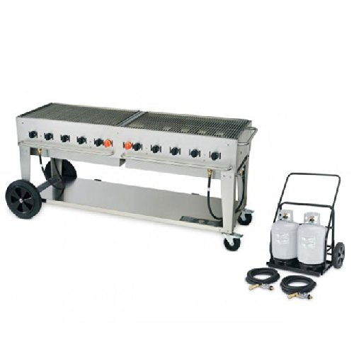 Crown Verity MCC-72 Outdoor Charbroiler Complete Set - 72'' by Crown Verity