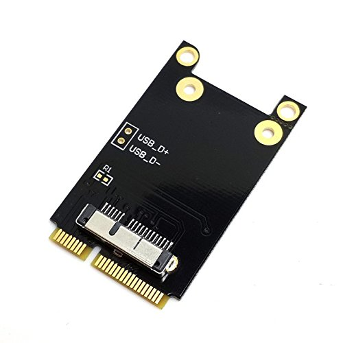 CY Wireless WiFi Mini PCI-E Card for MacBook Broadcom BCM94360CD/BCM94331CD BCM94331CD BCM943224P