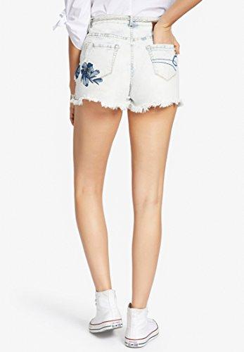 Mujer Para Jeansblau Ajustada Helles Khujo Básico Pantalón RpwPwqxBgI