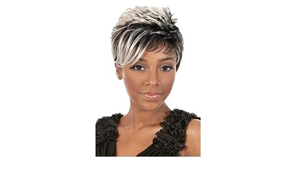 Mypace - Peluca de pelo largo liso para hombres y mujeres, color ...