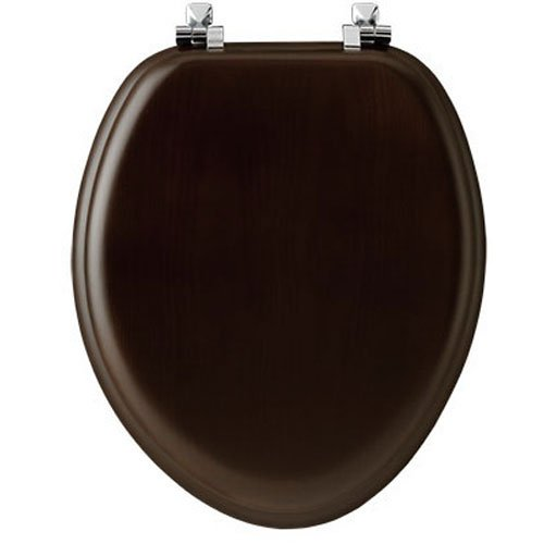 Mayfair 19601CP 888 Natural Reflections Veneer Toilet Seat w