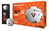 TaylorMade Unisex's TP5 pix Golf Balls, White, One Size