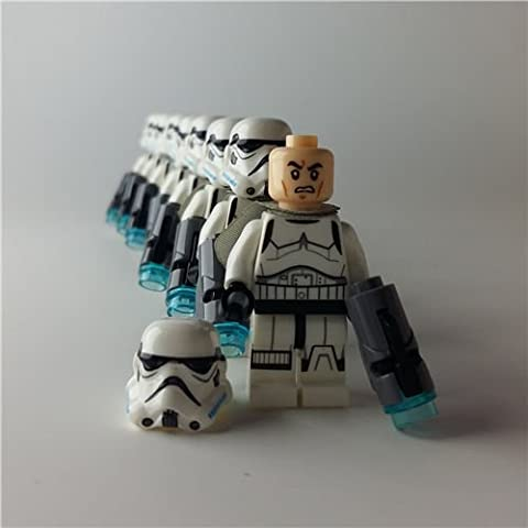 Compatible Lego 8pcs/lot Minifigure Star Wars Stormtrooper Building Kids Toy - Pokemon Attack Action Bases