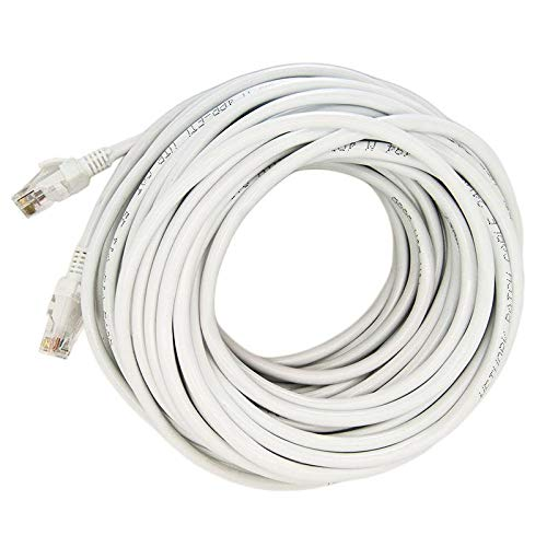 10M 30FT Cat 6 Ultra-Thin Flat RJ45 Ethernet Network Internet Lan DSL Cable UTP