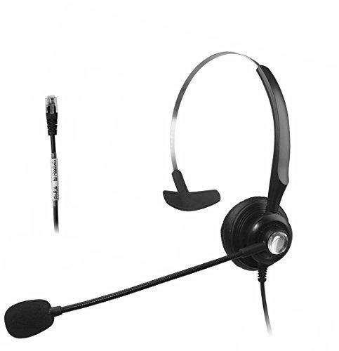 Fivetech LCAP Headset for Cisco 6921 6941 6945 6961 7931 7940 7941 7942 7945 7960 … (FB-RJ9)