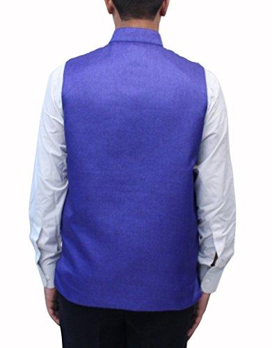 Romano - Gilet - Sans Manche - Homme Bleu Bleu