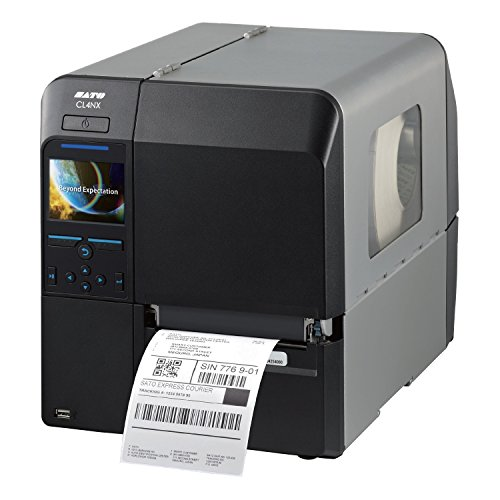 Sato CL412NX Direct Thermal/Thermal Transfer Printer - Monochrome - Desktop - Label Print - 4.10