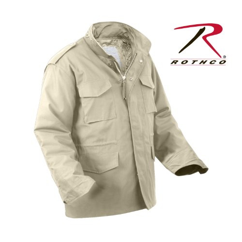 Rothco M-65 Field Jacket, Khaki, Large