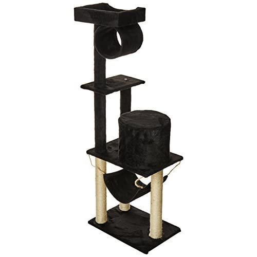on sale oxgord 22x15x55 inch multi level cat tree house with scratching post towers on sale oxgord 22x15x55 inch multi level cat tree house with      rh   lobiando