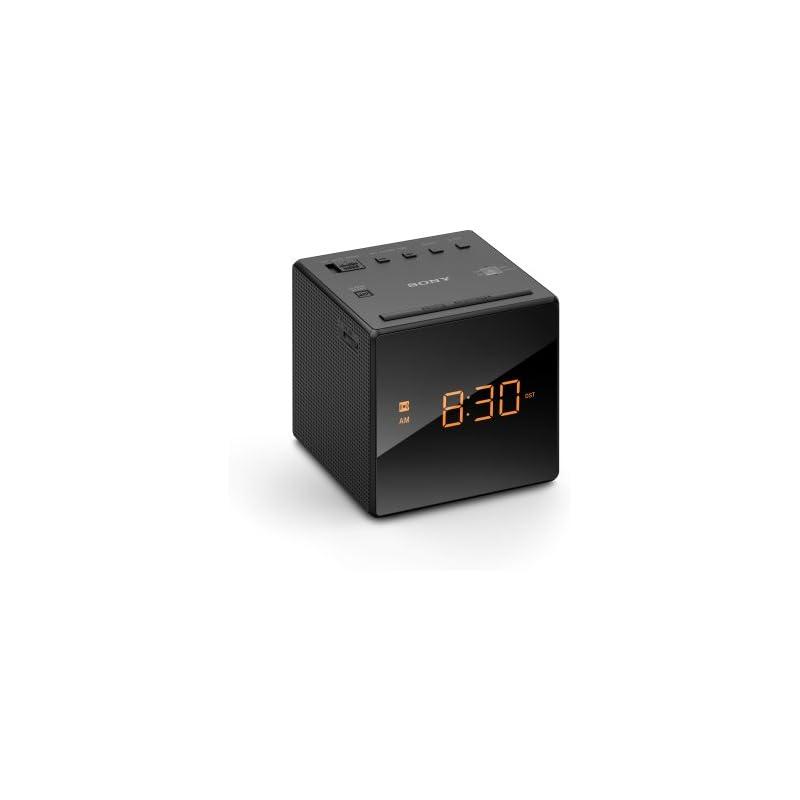 Sony ICFC-1 Alarm Clock Radio LED Black