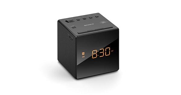 fe566231c1f Rádio Relógio Sony ICF-C1 Portátil com Despertador - Preto  Amazon.com.br   Eletrônicos