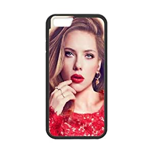 Celebrities Scarlett Johansson In Red Dress iPhone 6 Plus 5.5 Inch Cell Phone Case Black DIY Present pjz003_6526660