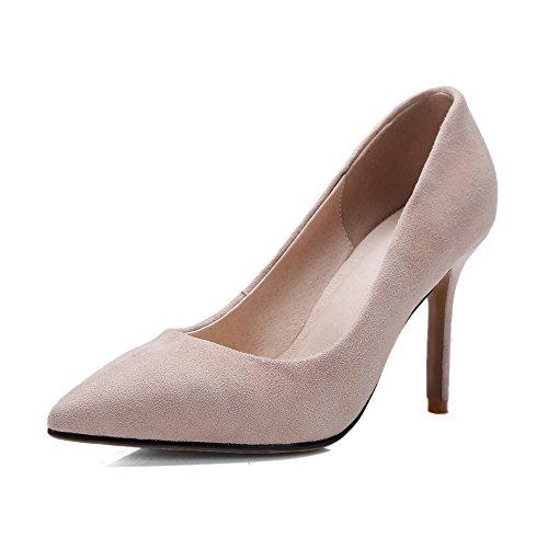 Nine SevenCourt Shoes - Sandalias con cuña mujer albaricoque
